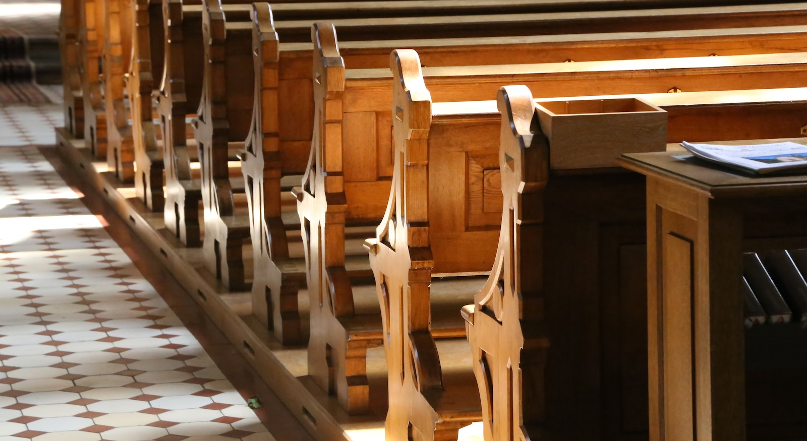 Church Pews Cropped