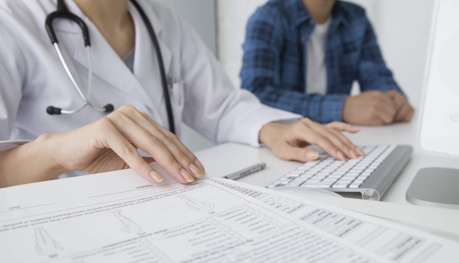 Medical Record Papers Cropped