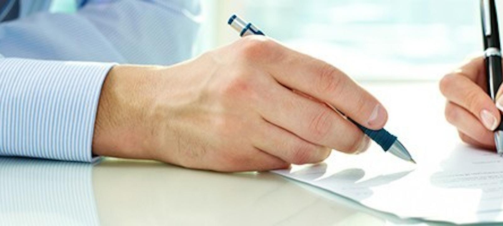 Signing Contractblog