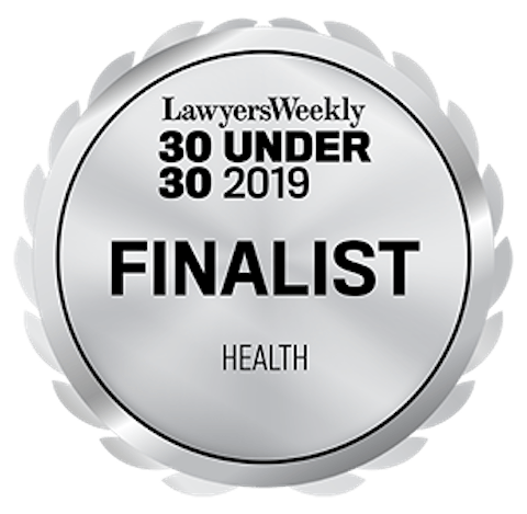 30U30 2019 Seal Finalist Health