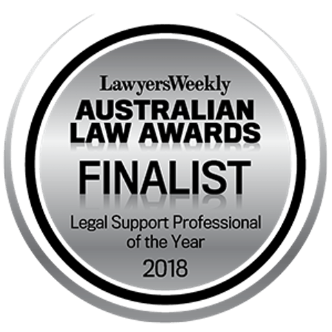 Ala 2018 Legal Support Professional Of The Year Rs